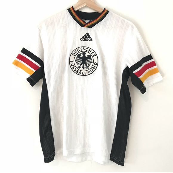 aaca27bbe59 adidas Other - VTG Adidas Ringer WorldCup Soccer Jersey Germany